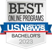 2018 Best Online Bachelors: U.S. News & World Report.