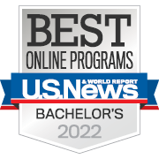 2018 Best Online Bachelors: U.S. News & World Report.