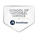 Schools of National Service Badge