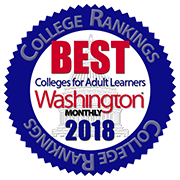 Granite State College is ranked as one of the Best Colleges for Adult Learners by Washington Monthly.